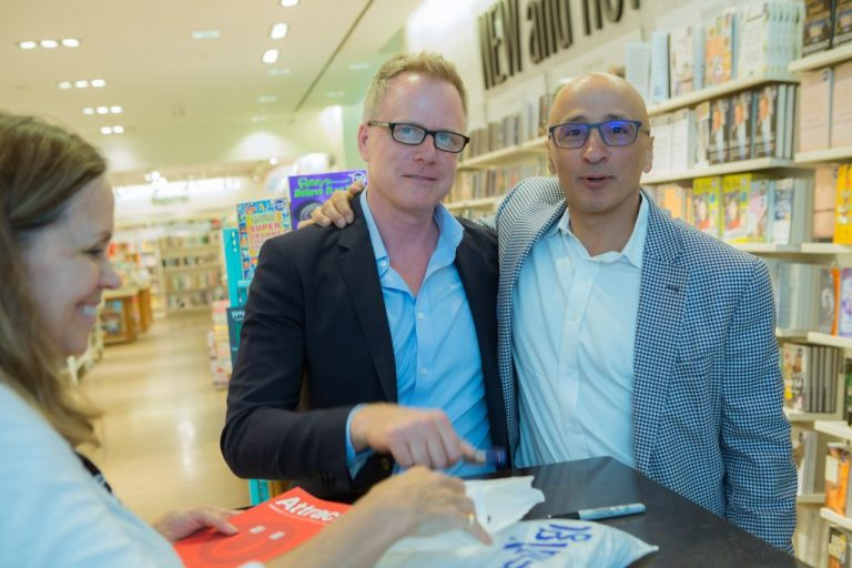 Attract author Andris Pone and Peter Aghar of Crux Capital