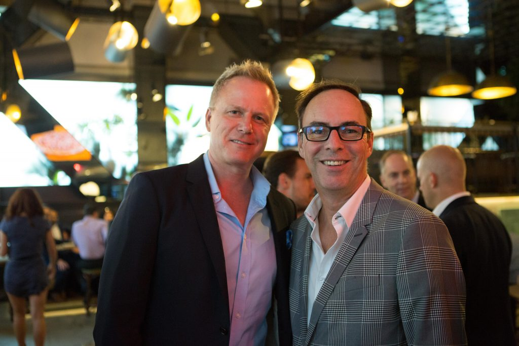 Attract author Andris Pone with Stephane Vigneault of Sun Life Financial