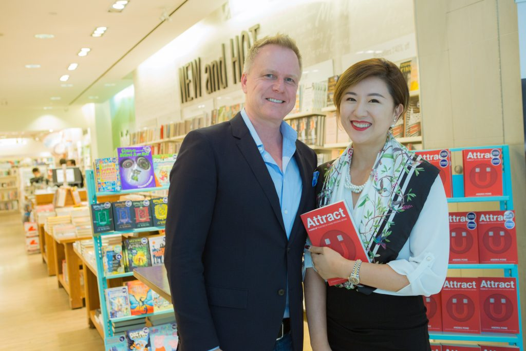 Attract author Andris Pone and Lian Chen of Elleite Image