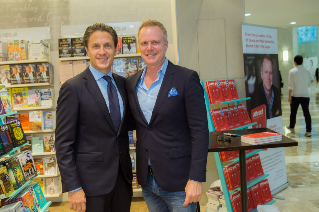 Attract author Andris Pone and Mark Mulroney of Scotiabank