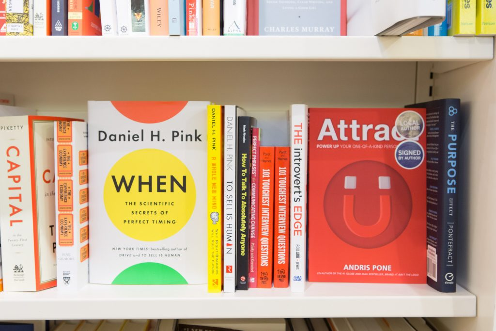 Attract on the shelf at Indigo