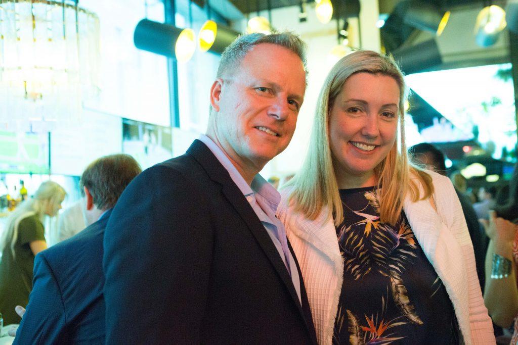 Attract author Andris Pone with Liz Wilson of CIBC